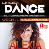 LA STORIA DELLA DANCE - SPECIALE ALEXIA