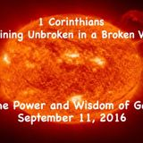 1 Corinthians - The Power and Wisdom of God