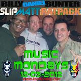 Slipmatt, Billy Daniel Bunter & Rat Pack - Music Mondays on Kool London 12-03-2012