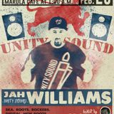 Jah Williams (Unity Sound) for One Blood Marula Café