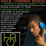 BACK CORNER RADIO: Episode #118 (June 12th 2014)