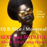 DJ B.Nice - Montreal - Deep, Tribal & Sexy 39 (**AMAZING 200% Sexy and Soulful DEEP AFRO HOUSE !!**)