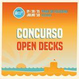 Concurso Open Decks Wipeout Open Air 2018