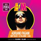 Adriano Pagani @ Clash Club - 29.08.14