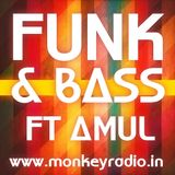 Funk & Bass Xmas Mix feat AmuL {Monkey Radio India}