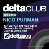 Delta Club presenta Nico Purman (9/12/2011)