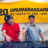 Drum & Bass Arena Summer BBQ - 05 - Serum b2b Voltage (Low Down Deep) @ MoS - London (03.07.2016)