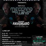 Sebastian De la Vega - Meccano Twins, Aniversario Hardcore Colombia