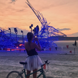 Malin @ Maxa Camp Friday Burning Man 2017