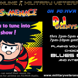 1st August 2017 The Menace's 4hr Indie Show for those who missed it & those who want to listen again