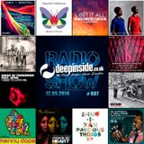 DEEPINSIDE RADIO SHOW 007 (Roland Clark Artist of the week)