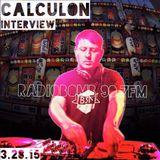 Calculon Interview - Radiobomb 90.7FM KPFK LA 3.28.15