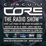 CIRCUIT CORE - THE RADIO SHOW EP. 5 - FREAKENSIS & KAY HARDCORE