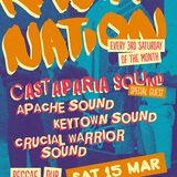 Keytown Sound @ Rasta Nation #45 (Mar 2014) part 3/9