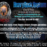 Heavy Rock Rapture May 30 2017 feat Nicumo interview