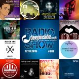 DEEPINSIDE RADIO SHOW 081 (Angie Brown Artist of the week)