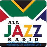Vagabond Jazz & Blues Show - Wednesday, 21 September 2016