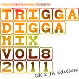 TRIGGA DIGGA MIX VOL.8 - UK 2 JA EDITION ls. GGK