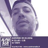 Alpha Beat #7 w/ Deiv