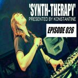 Konstantine's 'Synth-Therapy' Podcast - Episode 026 -