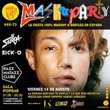 Mashuparty #40 - DJ Surda & Sick-O (MashCat Team) - PopBar Razzmatazz (2015/08/14)