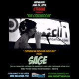 SAGE Guest Mix for The Greenroom on Bassdrive.com June 24th 2015 - ALL Sage tracks, rmixes & collabs