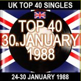 UK TOP 40 24-30 JANUARY 1988