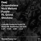Shlohmo (True Panther Sounds, FOF, Wedidit Collective) @ Rinse.fm 106.8 FM - London (03.09.2015)