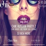 CHIK Russian Party 2 (Sea Lounge, MonteCarlo)