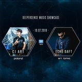 Deepersense Music Showcase 043 with CJ Art & Echo Daft (July 2019) on DI.FM