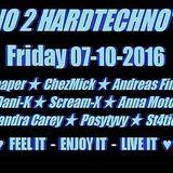 Techno 2 Hardtechno 10/2016