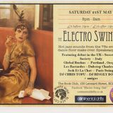 GlobalRuckus live @ The Book Club, London for Electro Swing Club - An Italian Affair - 2011-5-25