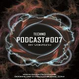 Podcast 007 mixed by Vontech ( Techno Session 2015 )