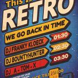 dj A-Tom-X @ Club Escape - Retro 21-11-2014