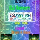 Venom's cover show for Bagpuss playing Liquid DnB on www.lazerfmworldwide.com 15/09/18
