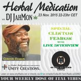 A Herbal Medication show dedicated to and with a live interview with Clinton Fearon (ex Gladiators)