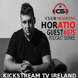 Club Sessions Podcast Series 075 -GuestMix HORATIO hosted by Andry Cristian & Alesana