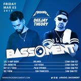 The Bassment 3/03/17 w/ Deejay Theory