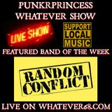 PunkrPrincess Whatever Show recorded live on whatever68.com 3/14/20