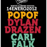 Dylan Drazen - Live @ Winter Clubbing Festival, Industrial Copera, Granada, Espanha (14.01.2012)