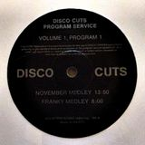 Disco Cuts Program Service (Vol.1 - Prog.1) - November Medley