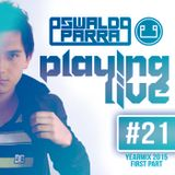 Playing Live #21 (Yearmix 2015 First Part)