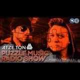 Puzzle Music Radio Show 03 Mixed by Atze Ton - Fnoob Techno Radio