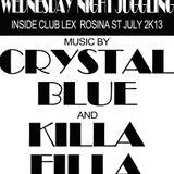 CRYSTAL BLUE LS KILLA FILLA@CLUB LEX JULY 2K13