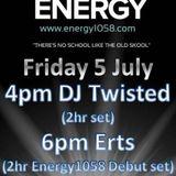 Erts - Energy1058 (05-07-2019)