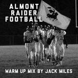 Almont Raider Football Warm Up Mix 2014
