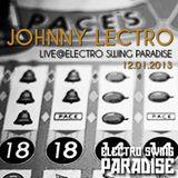 Johnny Lectro Live@Electro Swing Paradise // 12.01.2013
