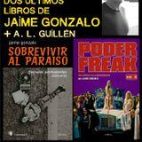 Presentación de 'Poder freak vol. 3' y 'Sobrevivir al paraíso' en La Oficina, Almería [2015-10-17]