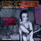 EXODE Podcast Volume 17 Mixed by Romi Van Tastisch