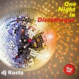 DJ Kosta - One Night In Discotheque Mix (Section The 80's)